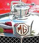 The famous MG badge